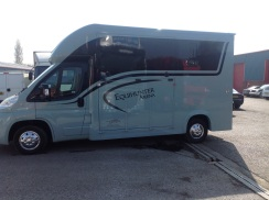 Equihunter Arena 3.5 Tonne Horsebox Finished in BMW Mini Ice Blue