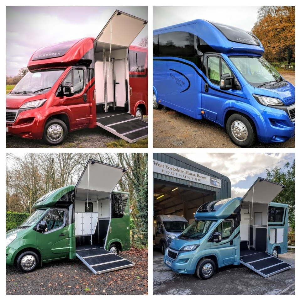Equihunter Horseboxes Collage