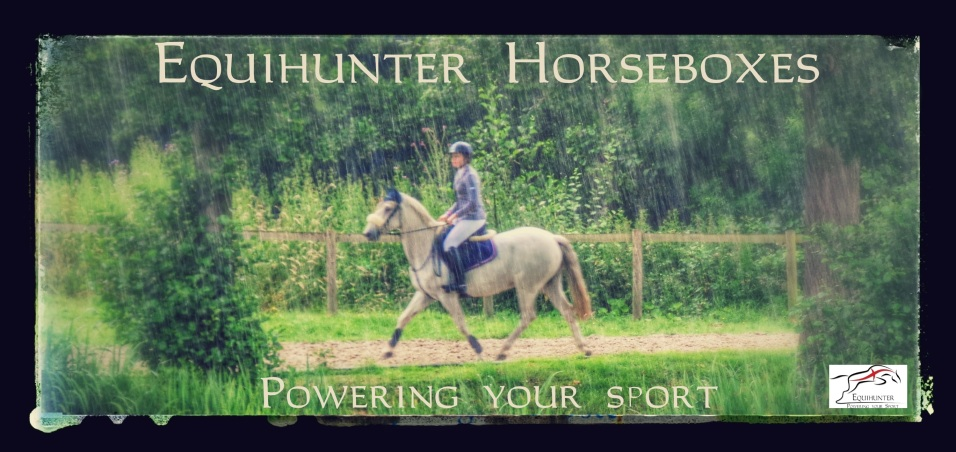 Equihunter Powers Your Sport-Banner with Logo