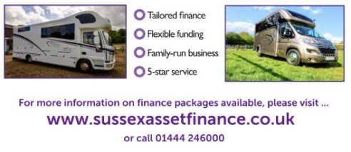 West Yorkshire Horseboxes with sussex asset finance banner