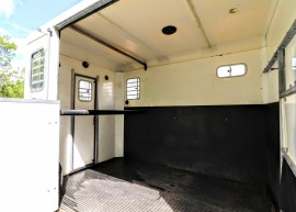 Treka For Sale horse area from open ramp