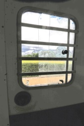 Equi-Trek Space Treka For Sale close up of side window
