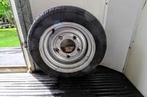 Equi-Trek Space Treka For Sale spare wheel