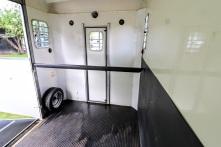 Equi-Trek Space Treka For Sale rear door inside