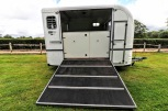 Equi-Trek Space Treka For Sale Ramp Down View
