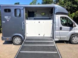 Used Equi-Trek 4,005 kgs Tonne Two Stall Horsebox For Sale (9)
